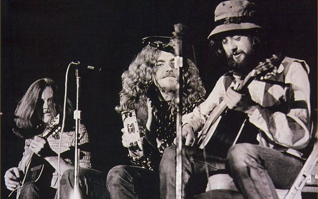 Led Zeppelin acoustic set