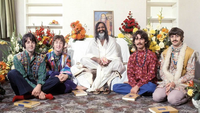 The Beatles with Maharashi