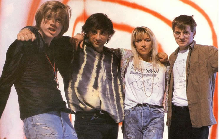 Sonic Youth in 1990