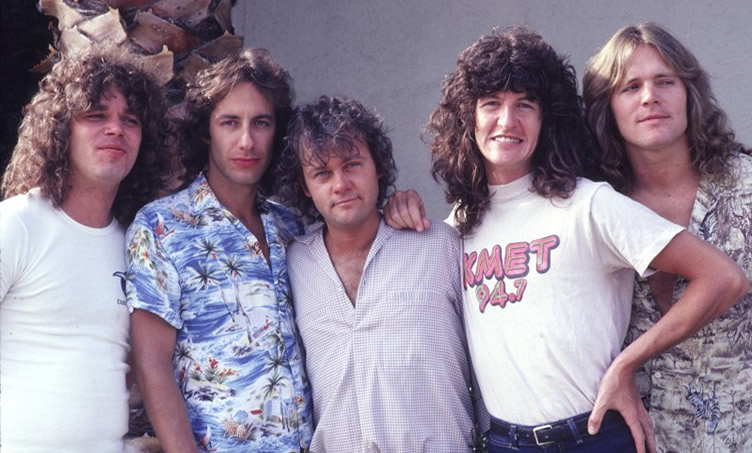 REO Speedwagon in 1980