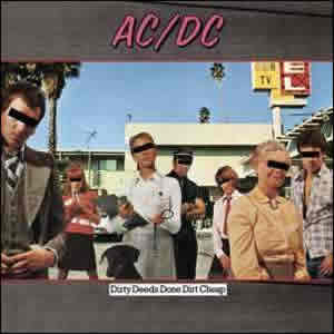 Dirty Deeds Done Dirt Cheap by AC-DC