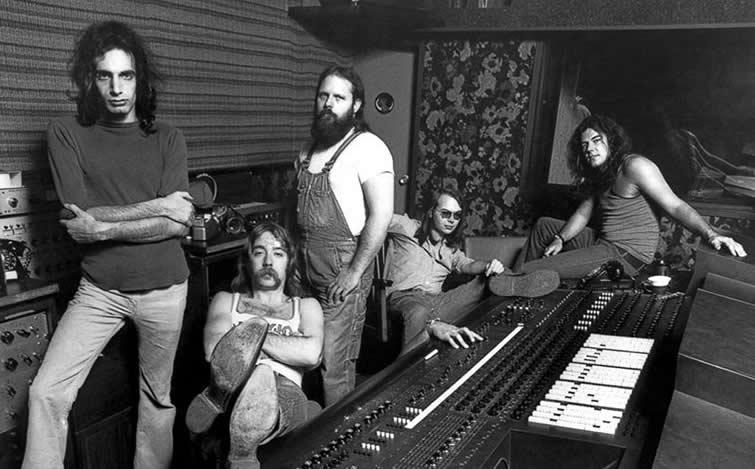 Steely Dan group In studio