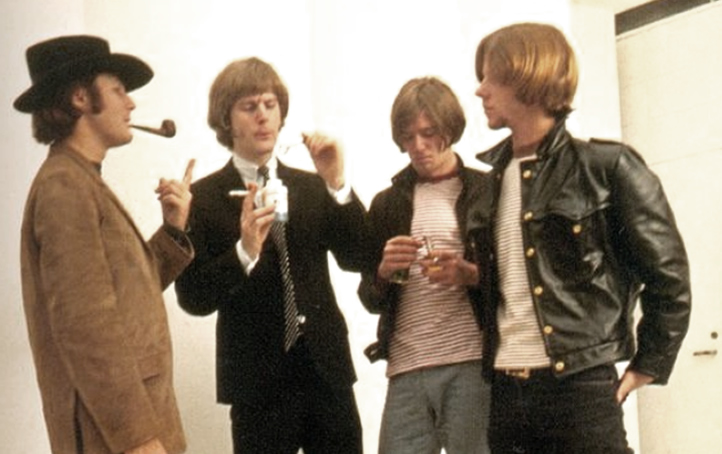 The Byrds in 1966